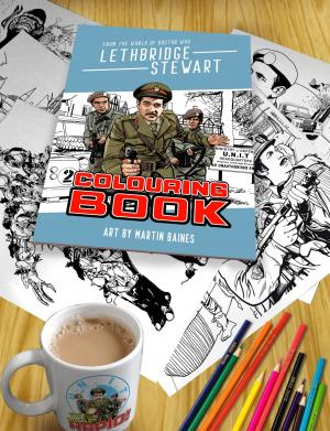Lethbridge-Stewart Colouring Book (Credit: Candy Jar)