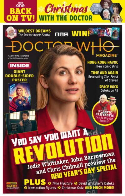 Doctor Who Magazine: Issue 559 (Credit: Panini)