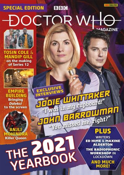 Doctor Who Magazine Special Edition The 2021 Yearbook (Credit: Panini)