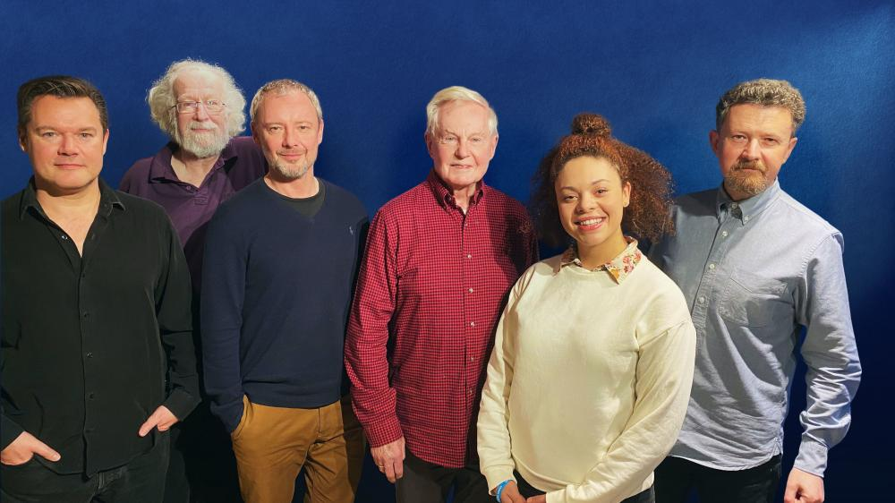 Masterful - Glen McCready / Toby Hrycek-Robinson / John Simm / Derek Jacobi / Aurora Burghart / Ken Bentley (Credit: Big Finish)