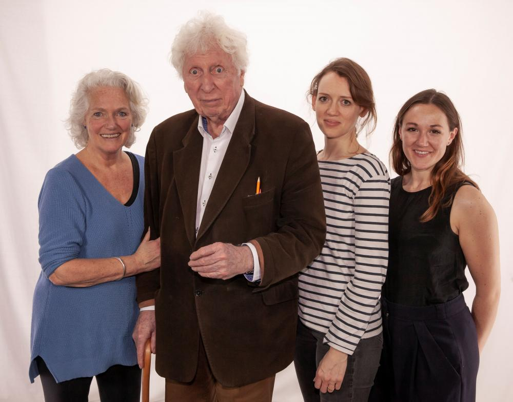 Louise Jameson / Tom Baker / Lucy Briggs-Owen / Charlotte Bate (Credit: Big Finish)