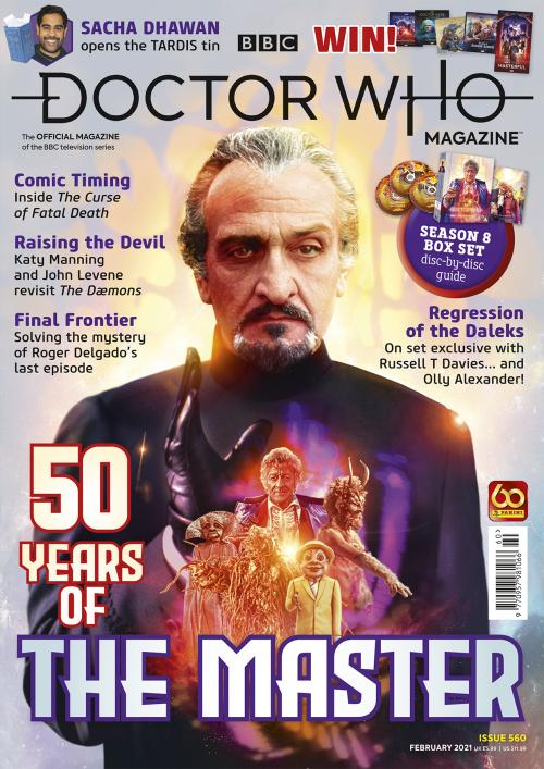 Doctor Who Magazine: Issue 560 (Credit: Panini)