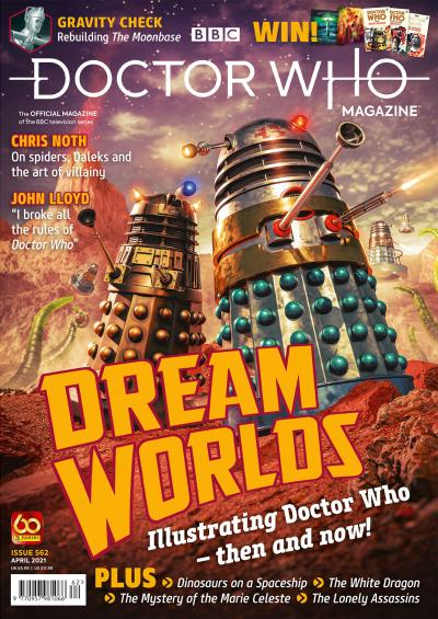 Doctor Who Magazine: Issue 562 (Credit: Panini)