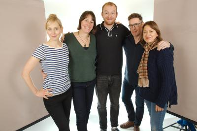 Hattie Morahan, Rebecca Root, Tom Price, Paul McGann,  Nicola Walker, Tony Whitmore (Credit: Big Finish)