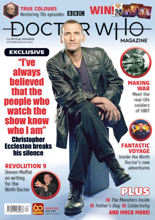 Doctor Who Magazine: issue 563 (Credit: Panini)
