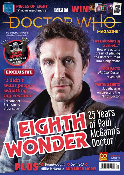 Doctor Who Magazine Issue 564 (Credit: Panini)