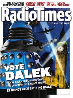 Radio Times (17-23 Apr 2010) - Blue Dalek