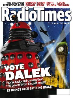 Radio Times (17-23 Apr 2010) - Red Dalek