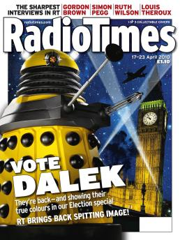 Radio Times (17-23 Apr 2010) - Yellow Dalek