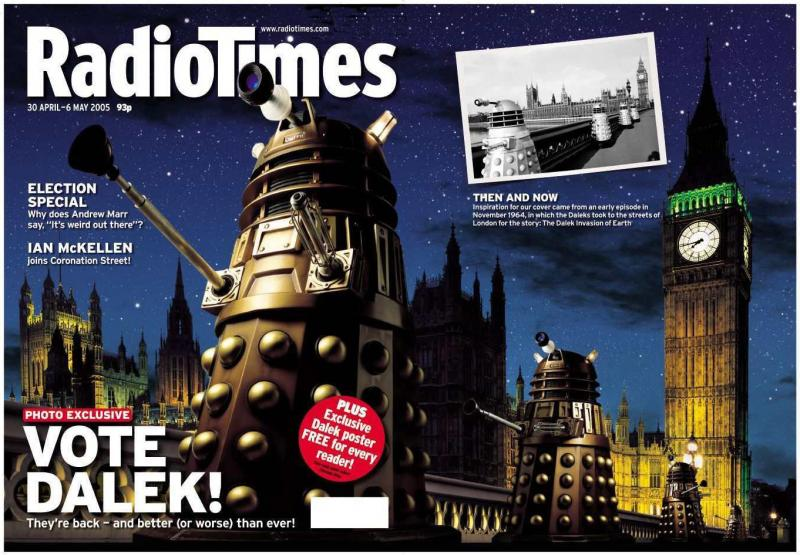 Radio Times (30 Apr-6 May 2005) (Credit: Radio Times)
