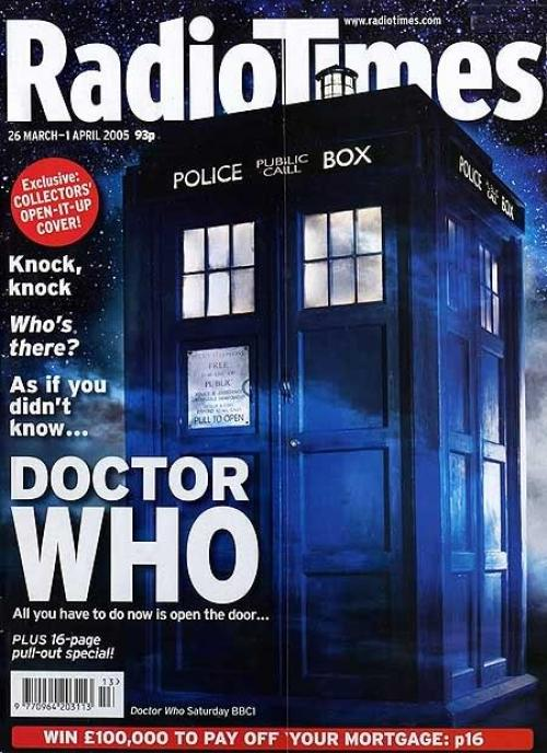 Radio Times (26 Mar - 1 Apr 2005) (Credit: Radio Times)