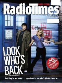 Radio Times, featuring the two poll winners together! (15-21 Apr 2006) (Credit: Radio Times)
