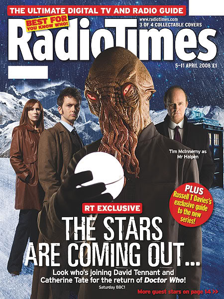Radio Times (5-11 Apr 2008) - Cover B
