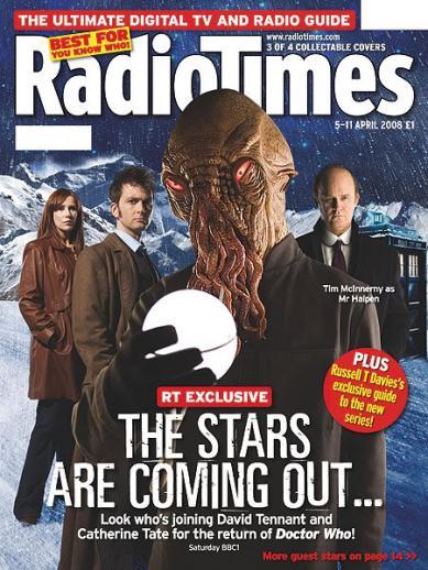Radio Times (5-11 Apr 2008) - Cover B