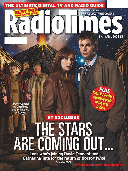 Radio Times (5-11 Apr 2008) - Cover C