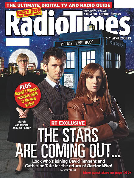Radio Times (5-11 Apr 2008) - Cover D