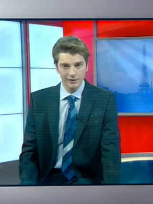 French Newsreader -