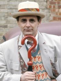 The Seventh Doctor, as played by Sylvester McCoy