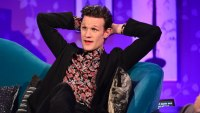 Matt Smith on Chatty Man. Photo: Channel 4