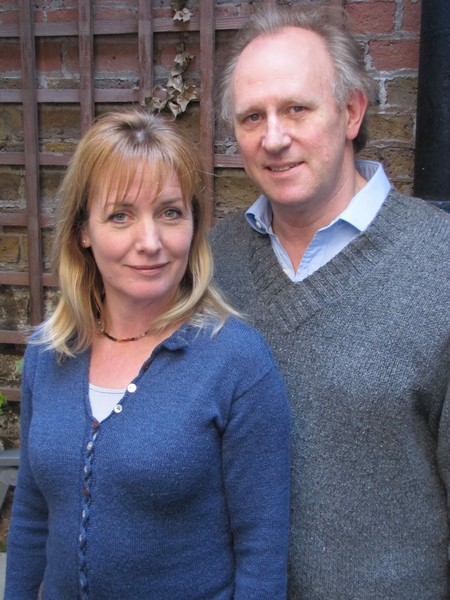 The Burning Prince - Peter Davison and Caroline Langrishe. Photo: Big Finish