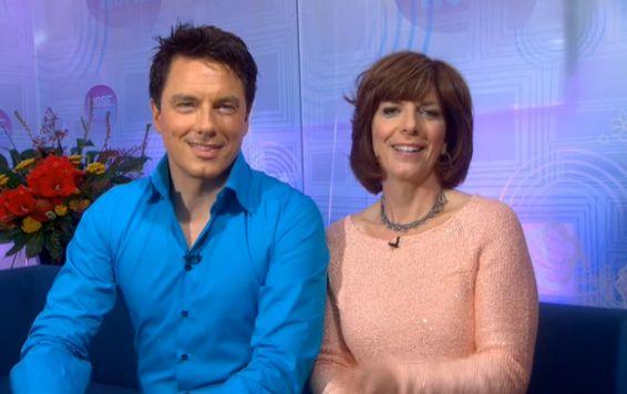 John and Carole Barrowman on Loose Women, ITV1, 20 Sep 2012