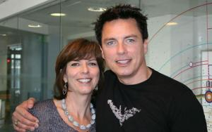 John and Carole Barrowman on Steve Wright in the Afternoon, BBC Radio 2, 17 Sep 2012