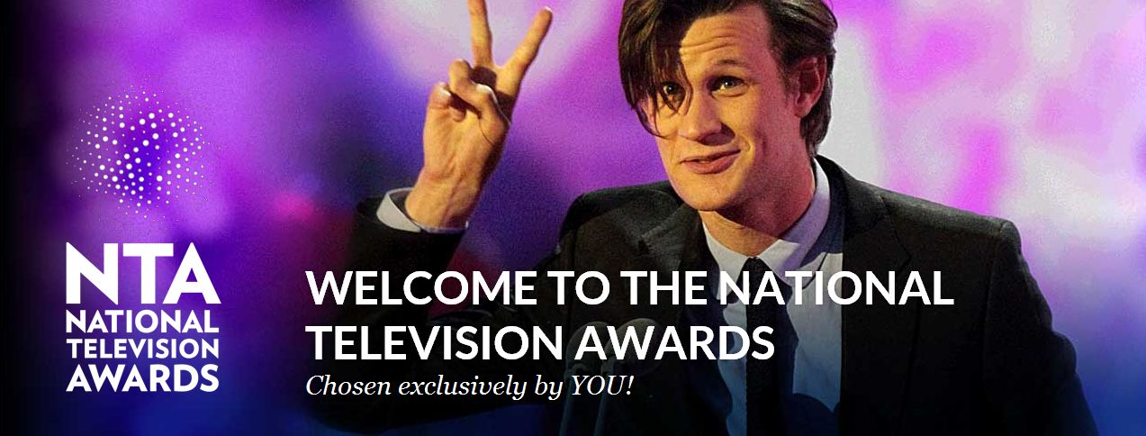 Matt Smith says Vote For Me in the National Television Awards!