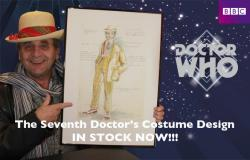 7th Doctor Costume (1987) - Sylvester McCoy with print