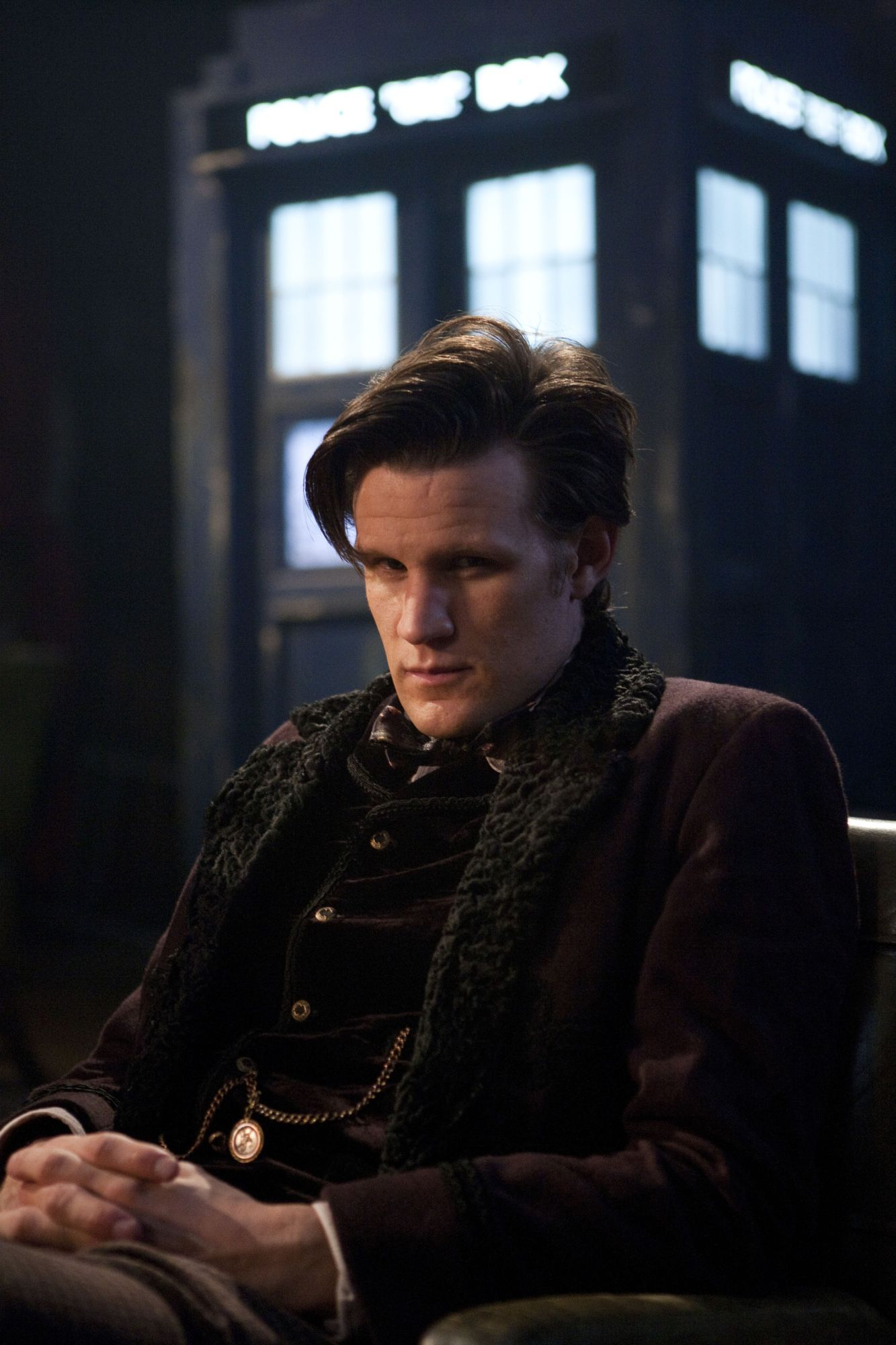 Matt Smith as the Doctor, Children in Need 2012. Photo: BBC