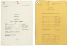 Lot 143: Doctor Who - The Planet Of The Spiders: A group of original scripts