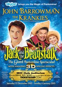 Jack and the Beanstalk, Glasgow SECC