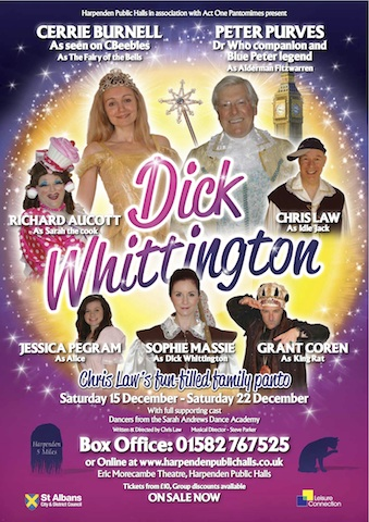 Dick Whittington, Harpenden Public Halls