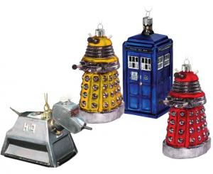 Doctor Who Christmas Decorations (BBC Shop)