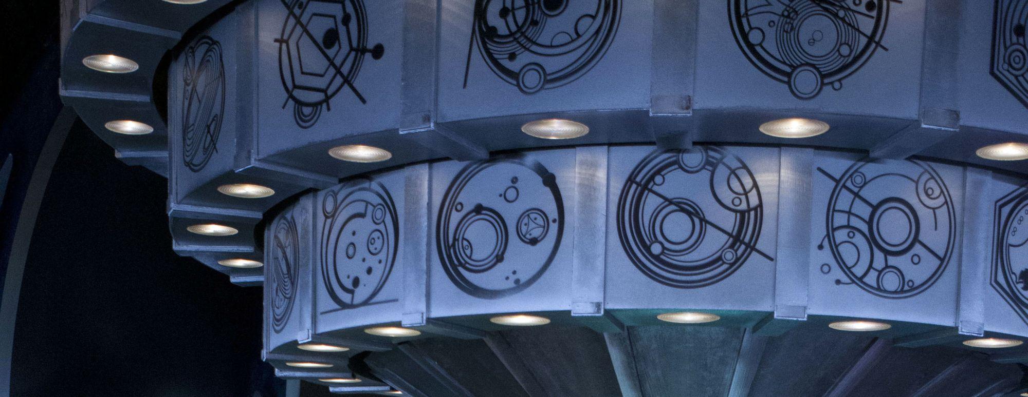 Sneak Peek at new TARDIS. Image: BBC