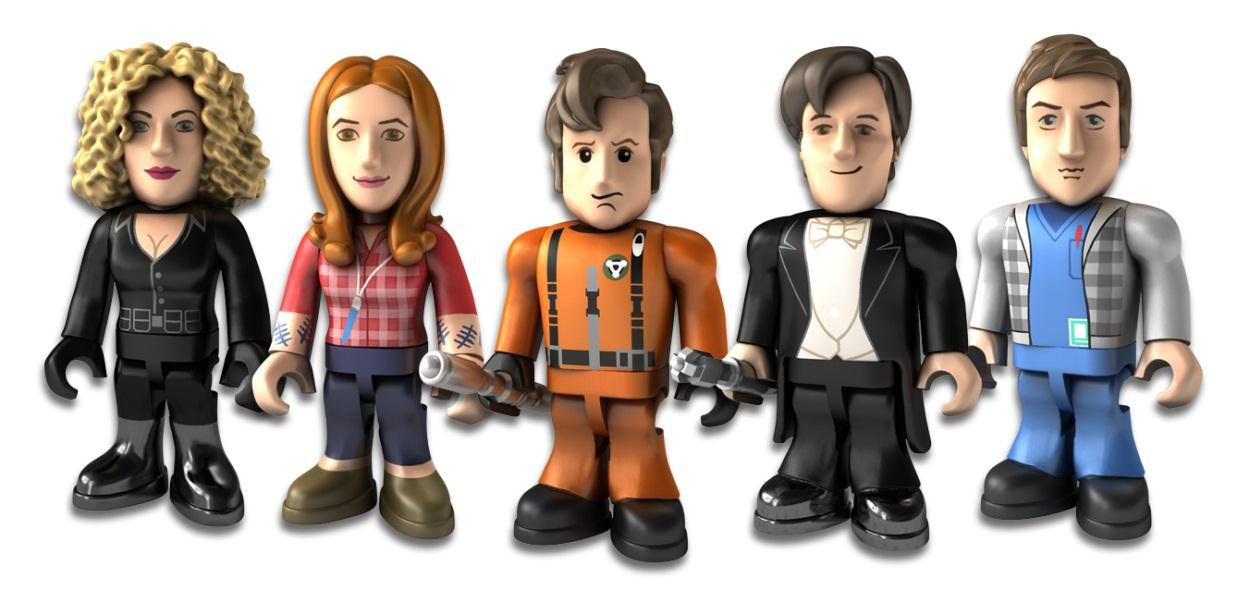 Character Building: Series Three Rare Figures