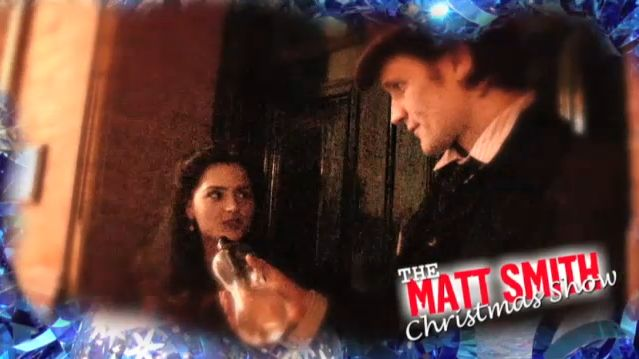 The Matt Smith Christmas Show. BBC Doctor Who Adventure Calendar Day 18