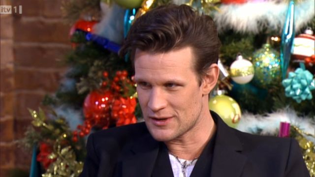 Matt Smith on This Morning, 18 Dec 2012