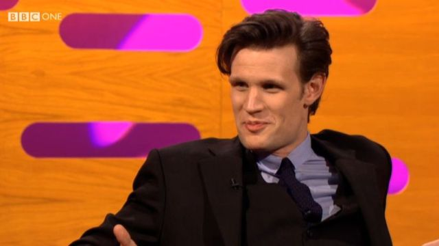 Matt Smith on The Graham Norton Show, 21 Dec 2012