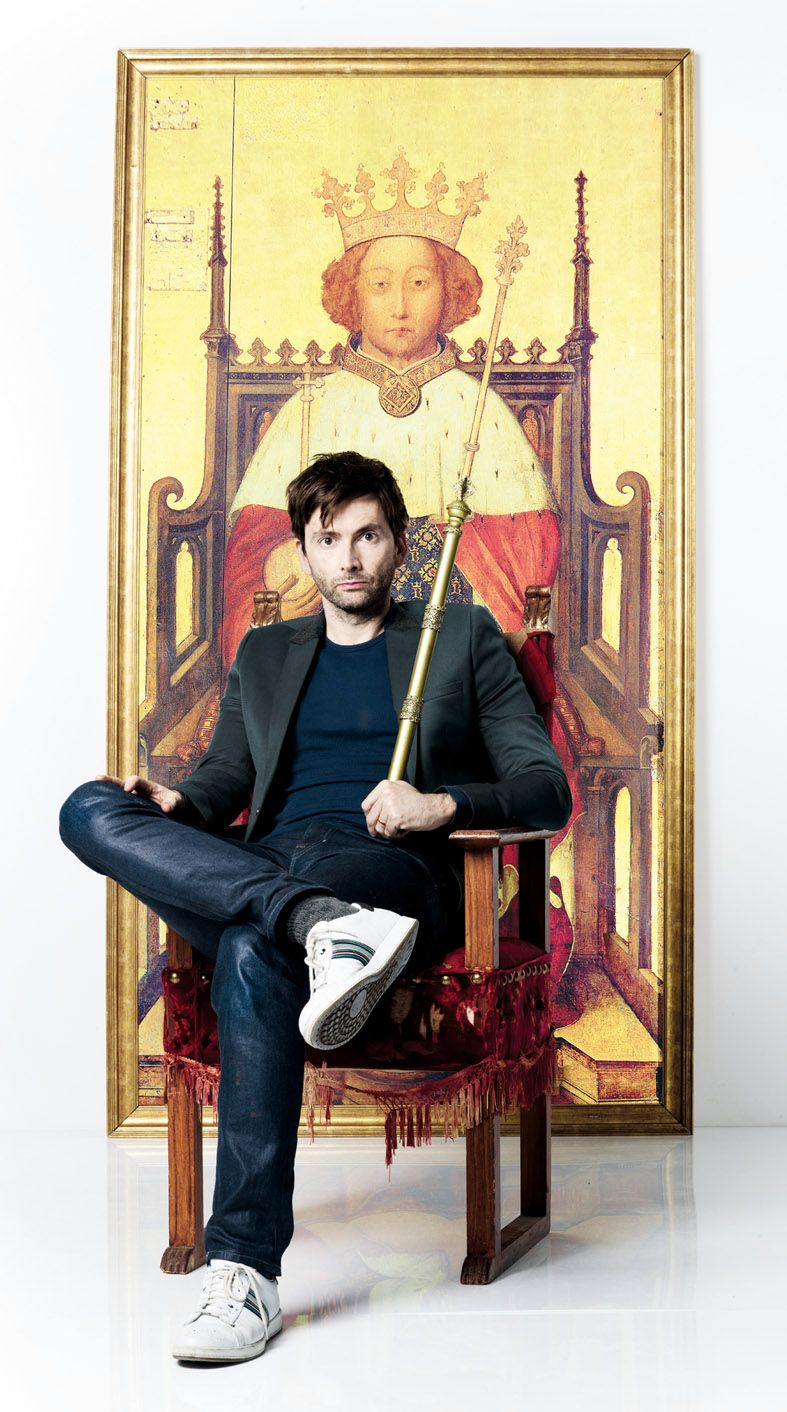 David Tennant in Richard II. Photo: RSC