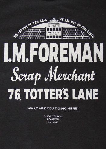 Dark Bunny Tees: I.M. Foreman