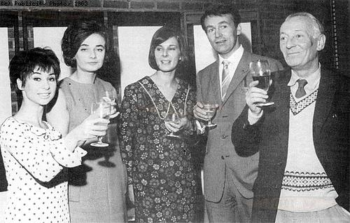 Verity Lambert with the original Doctor Who cast. Photo: BBC Publicity