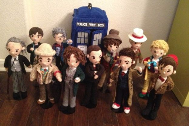 The Eleven (Crochet) Doctors. Photo: Allison Hoffman