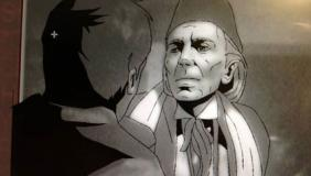The First Doctor in Thetamation for The Tenth Planet. Photo: BBC Worldwide