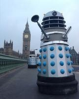 Daleks on Westminster Bridge. Photo: BBC