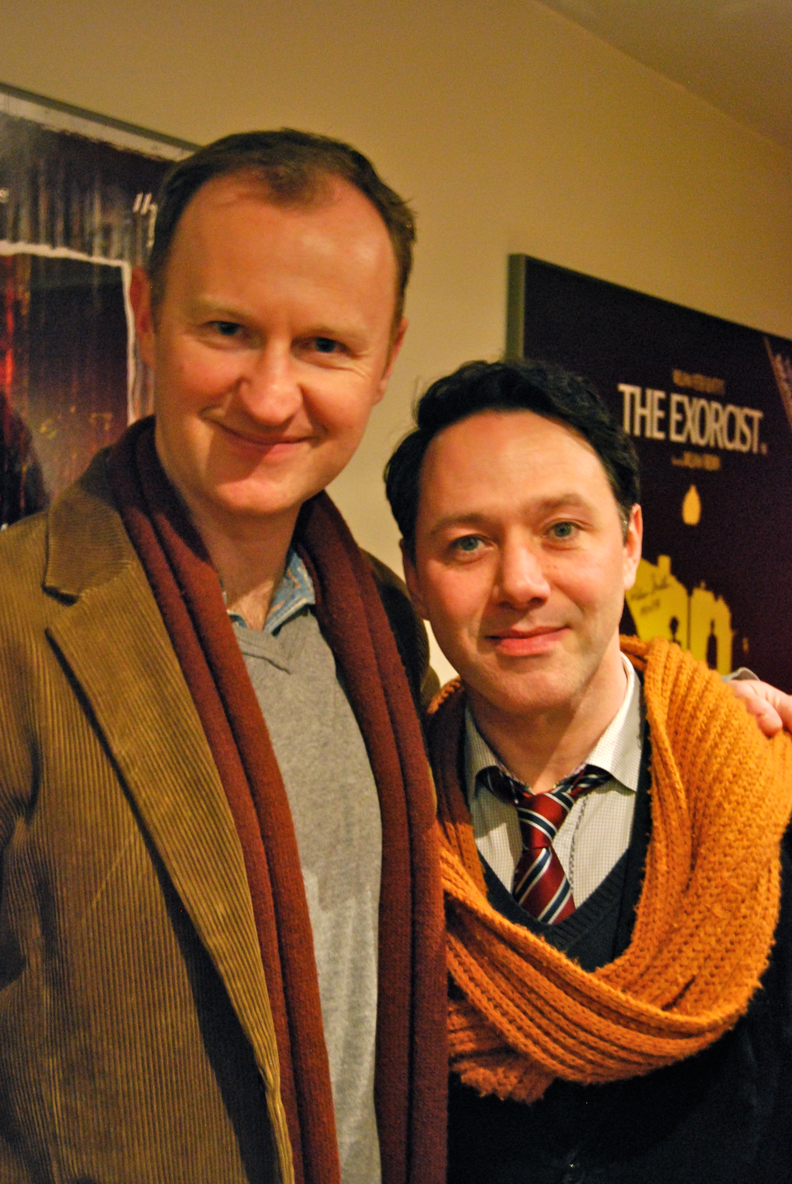 Mark Gatiss with Reece Shearsmith: Photo: Patrick Mulkern