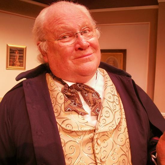 Colin Baker in The Woman in White. Photo: Lichfield Garrick