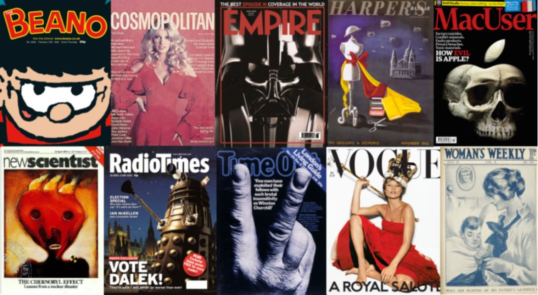 Professional Publishers Association Centenary Covers