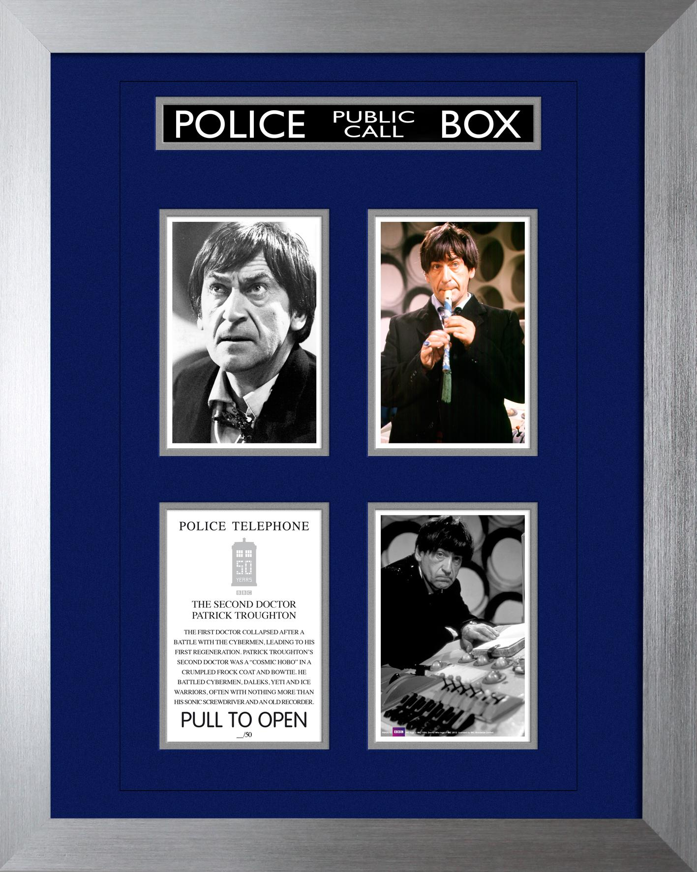 50th Anniversary Print - The Second Doctor (Credit: Forbidden Planet)