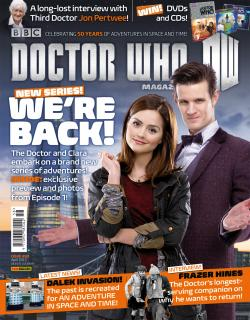 Doctor Who Magazine Issue 458