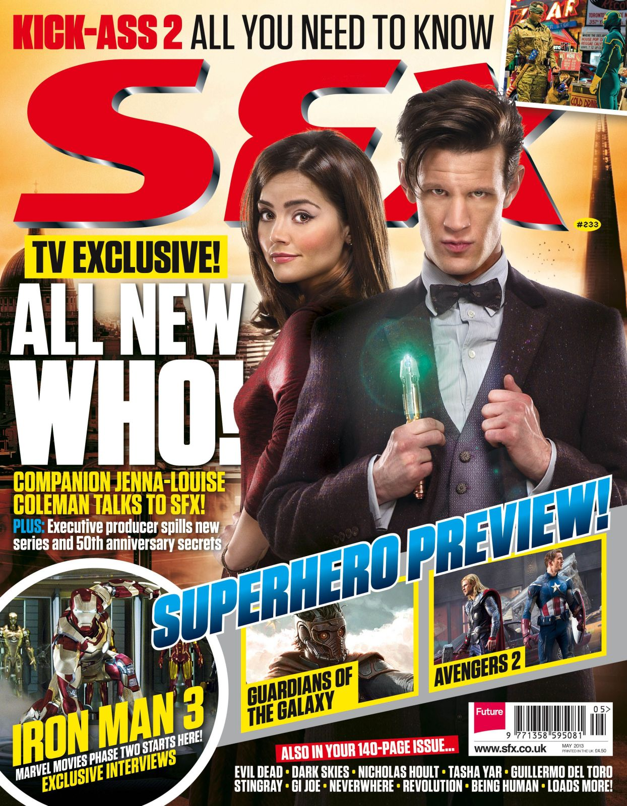 SFX Issue 233, published March 2013